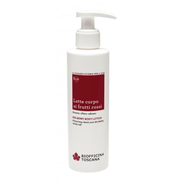 Biofficina Toscana - Red Berry Body Lotion - Body Line - Organic Vegan Cosmetics