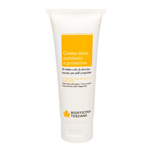Biofficina Toscana - Nourishing and Protective Hand Cream - Body Line - Organic Vegan Cosmetics