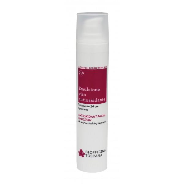 Biofficina Toscana - Antioxidant Facial Emulsion - Facial Line - Organic Vegan Cosmetics
