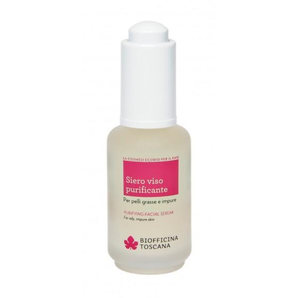 Biofficina Toscana - Purifying Facial Serum - Facial Line - Organic Vegan Cosmetics