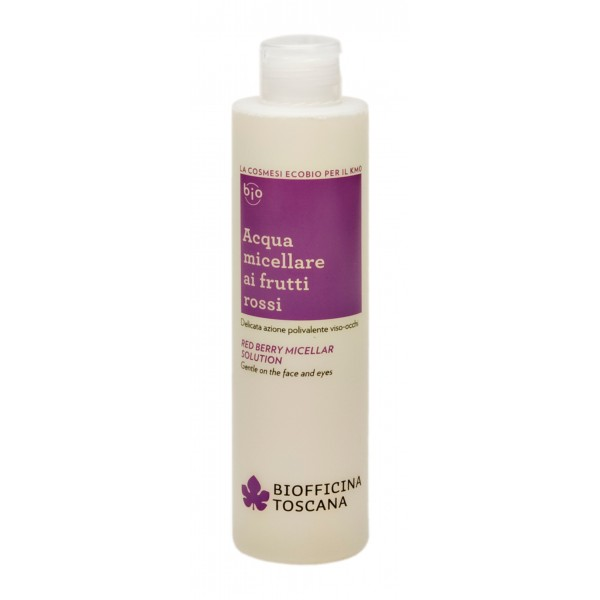 Biofficina Toscana - Red Berry Micellar Solution - Facial Line - Organic Vegan Cosmetics