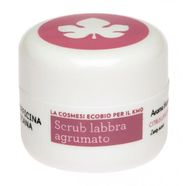 Biofficina Toscana - Citrus Lip Scrub - Facial Line - Organic Vegan Cosmetics