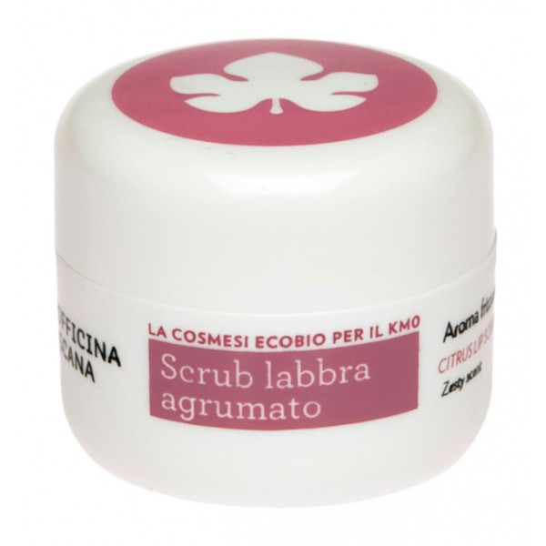 Biofficina Toscana - Scrub Labbra Agrumato - Linea Viso - Cosmetici Bio Vegan