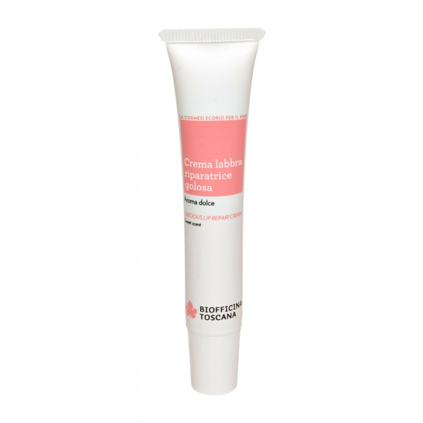 Biofficina Toscana - Luscious Lip Repair Cream - Facial Line - Organic Vegan Cosmetics