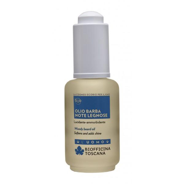 Biofficina Toscana - Woody Beard Oil - Men's Line - Organic Vegan Cosmetics