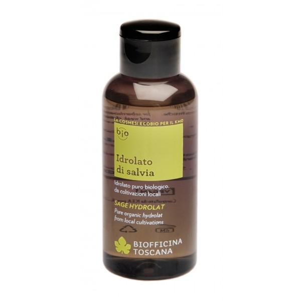 Biofficina Toscana - Idrolato di Salvia - Linea Acqua - Cosmetici Bio Vegan