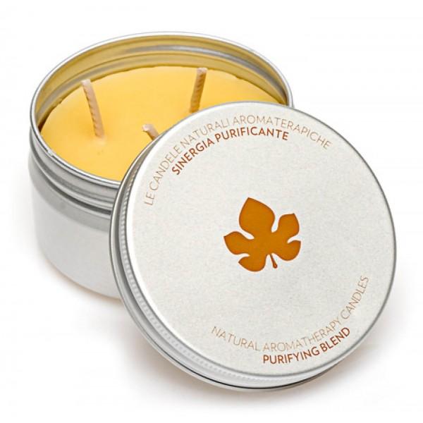 Biofficina Toscana - Candela Sinergia Purificante - Linea Casa - Cosmetici Bio Vegan