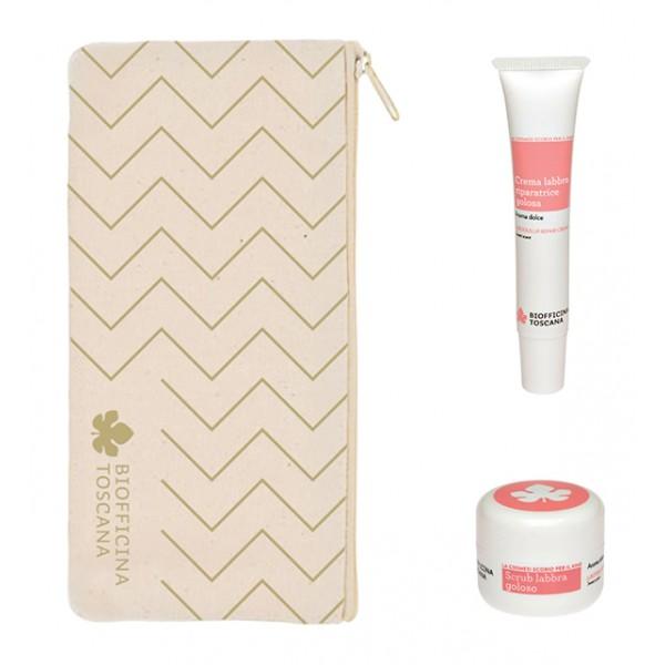 Biofficina Toscana - Luscious Lip Set - Gift Line - Organic Vegan Cosmetics