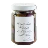 Nonno Andrea - Radicchio Rosso di Treviso I.G.P. Sott'Olio - Sottoli e Agrodolci Bio - 140 g