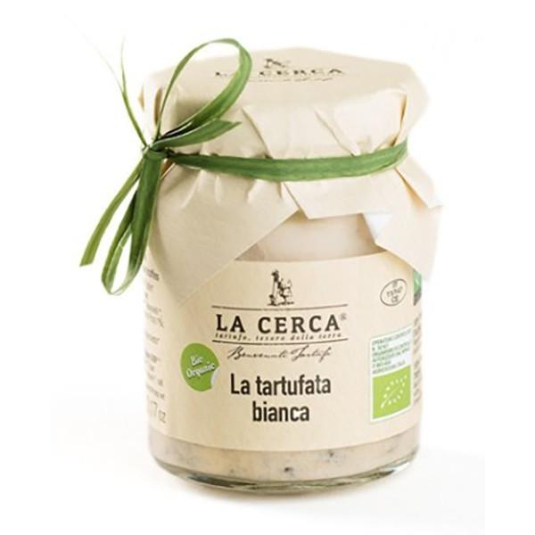 La Cerca - La Tartufata Bianca Bio - Salse con Tartufo - Eccellenze al Tartufo - Bio - 90 g