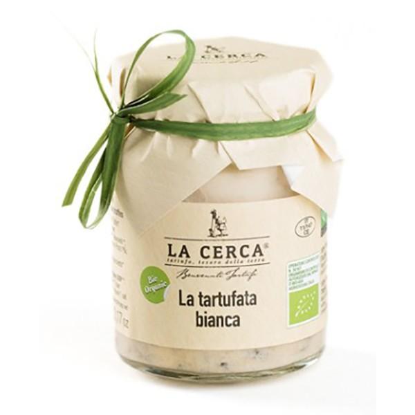 La Cerca - La Tartufata Bianca Bio - Salse con Tartufo - Eccellenze al Tartufo - Bio - 180 g