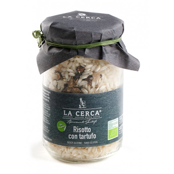 La Cerca - Risotto with Truffle - Specialties with Truffle - Truffle Excellence - Organic Vegan - 200 g