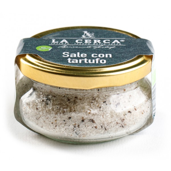 La Cerca - Salt with Truffle - Specialties with Truffle - Truffle Excellence - Organic Vegan - 100 g