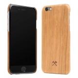Woodcessories - Cover in Legno di Ciliegio e Kevlar - iPhone 8 / 7 - Cover in Legno - Eco Case - Collezione Kevlar