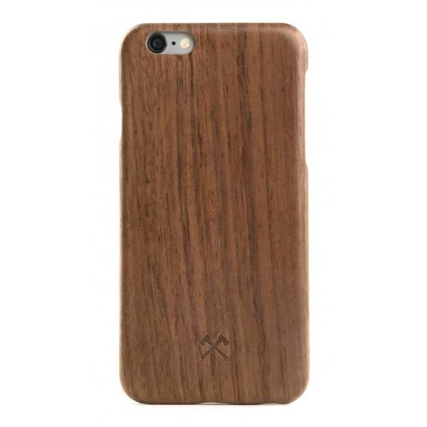 Woodcessories - Cover in Legno di Noce e Kevlar - iPhone 6 Plus / 6 s Plus - Cover in Legno - Eco Case - Collezione Kevlar