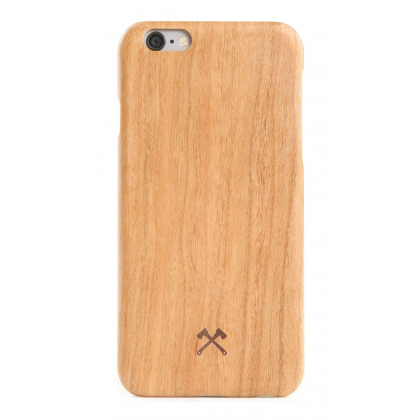 Woodcessories - Cover in Legno di Ciliegio e Kevlar - iPhone 6 Plus / 6 s Plus - Cover in Legno - Eco Case - Collezione Kevlar