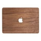 Woodcessories - Noce / MacBook Skin Cover - MacBook 11 Air - Eco Skin - Apple Logo - Cover MacBook in Legno