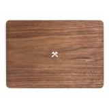 Woodcessories - Noce / MacBook Skin Cover - MacBook 12 - Eco Skin - Logo Ascia - Cover MacBook in Legno