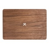 Woodcessories - Noce / MacBook Skin Cover - MacBook 11 Air - Eco Skin - Logo Ascia - Cover MacBook in Legno