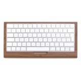 Woodcessories - Noce / Vassoio Tastiera Apple - Apple Keyboard 2 - Eco Tray -  Supporto Tastiera Apple in Legno