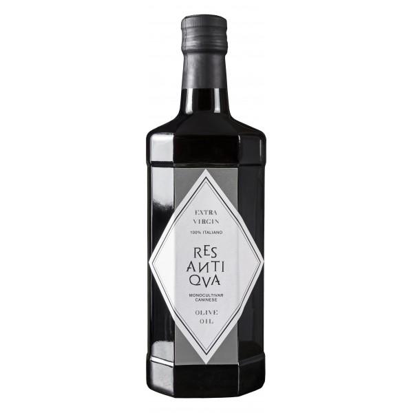 Res Antiqva - Bottiglia - Monocultivar Caninese - Olio Extravergine di Oliva Biologico Italiano - 500 ml