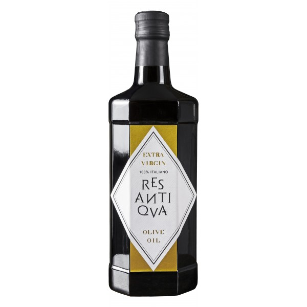Res Antiqva - Bottle - Organic Italian Extra Virgin Olive Oil - 12 x 250 ml