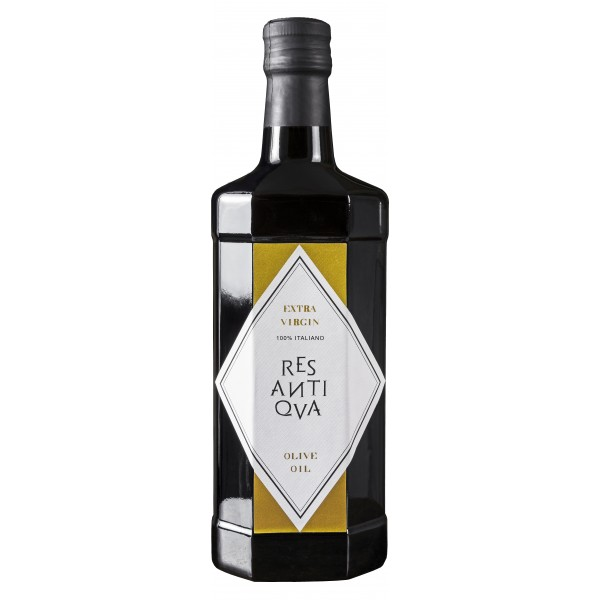 Res Antiqva - Bottle - Organic Italian Extra Virgin Olive Oil - 6 x 500 ml