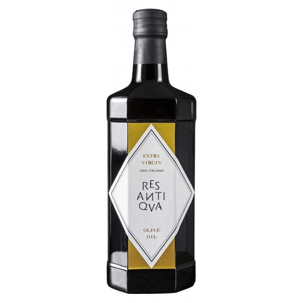 Res Antiqva - Bottiglia - Olio Extravergine di Oliva Biologico Italiano - 6 x 500 ml