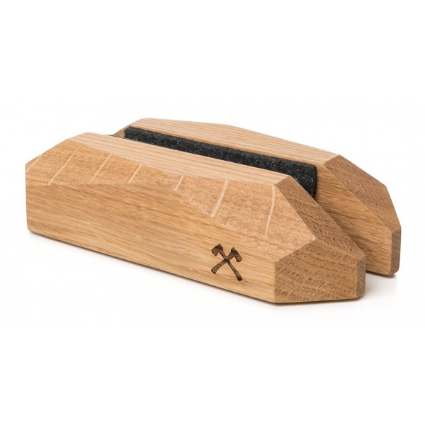 Woodcessories - Quercia / Base MacBook ad Arco in Legno - MacBook - Eco Rest - Supporto MacBook in Legno