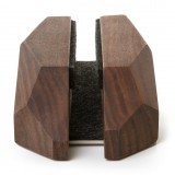 Woodcessories - Noce / Base MacBook ad Arco in Legno - MacBook - Eco Rest - Supporto MacBook in Legno