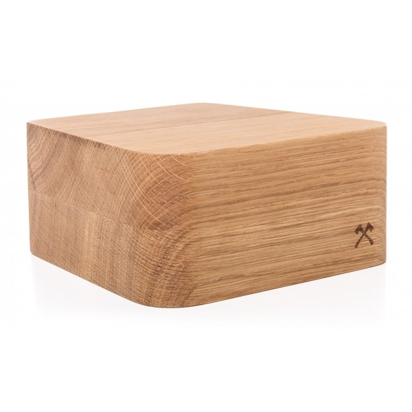 Woodcessories - Quercia / Supporto iMac Premium in Legno - MacBook 27 - Eco Foot - Supporto MacBook in Legno