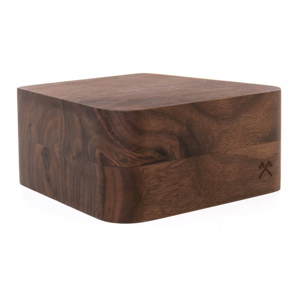 Woodcessories - Noce / Supporto iMac Premium in Legno - MacBook 27 - Eco Foot - Supporto MacBook in Legno