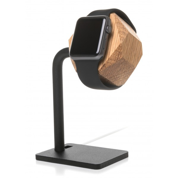 Woodcessories - Quercia / Supporto Apple Watch 1 & 2 in Legno - Apple Watch - Eco Dock Watch - Supporto Apple Watch in Legno