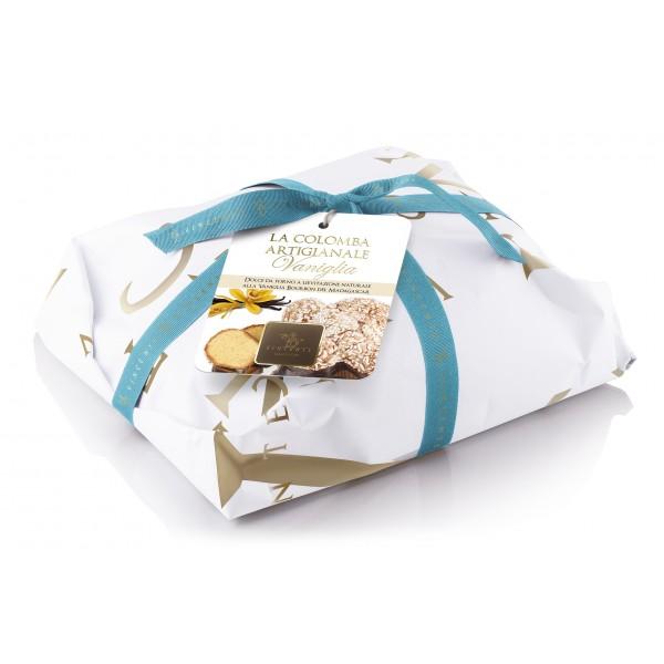 Vincente Delicacies - Colomba Classica - Pandorata Vaniglia Bourbon del Madagascar - Classique - Artigianale Incartata a Mano