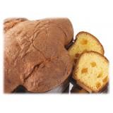 Vincente Delicacies - Colomba Artigianale Pesca, Cioccolato Extra Fondente 70% Pistacchio Sicilia - Classique - Incartata a Mano