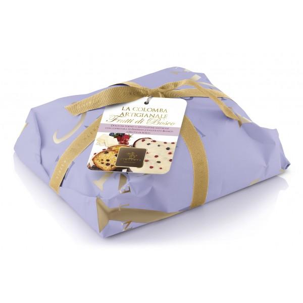 Vincente Delicacies - Colomba Artigianale - Frutti di Bosco e Cioccolato Bianco - Classique - Artigianale Incartata a Mano