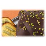 Vincente Delicacies - Colomba Artigianale - Cioccolato Fondente e Crema Pistacchio di Bronte D.O.P. - Le Chic - Pacco Regalo