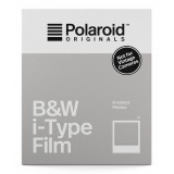 Polaroid Originals - B&W Film for i-Type - Classic White Frame - Film for Polaroid Originals i-Type Cameras - OneStep 2