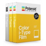 Polaroid Originals - Triple Pack for iType - Classic White Frame - Core Film for Polaroid Originals i-Type Cameras - OneStep 2