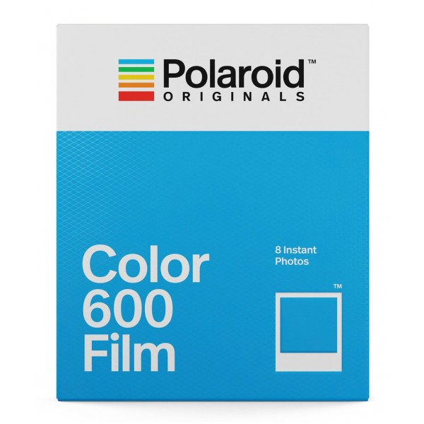 Polaroid Originals - Pellicole Colorate per 600 - Frame Bianco Classico - Film per Polaroid 600 Camera - OneStep 2