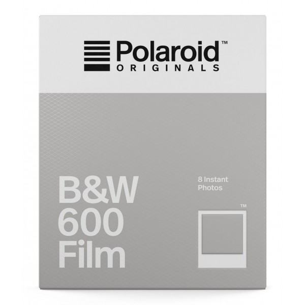 Polaroid Originals - B&W Film for 600 - Classic White Frame - Film for Polaroid Originals 600 Cameras - OneStep 2