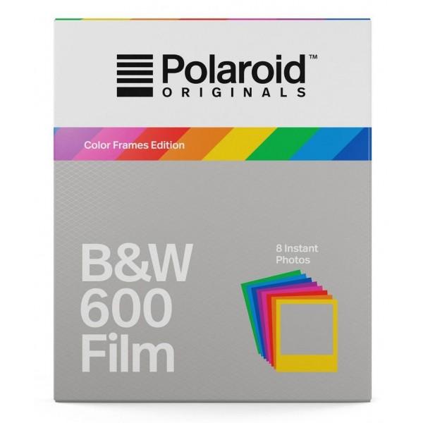 Polaroid Originals - Pellicole Bianco e Nero per 600 - Frame Colorato - Film per Polaroid 600 Camera - OneStep 2