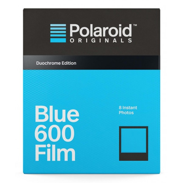 Polaroid Originals - Blue Film for 600 Duochrome - Black Frame - Film for Polaroid Originals 600 Cameras - OneStep 2