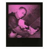 Polaroid Originals - Pellicole Rosa per 600 Duochrome - Frame Nero - Film per Polaroid 600 Camera - OneStep 2