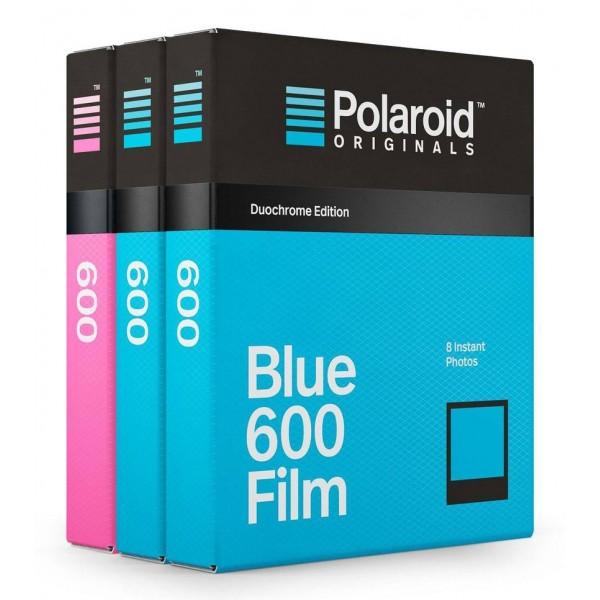 Polaroid Originals - Pacco Triplo Pellicole per 600 Duochrome - Frame Nero - Film per Polaroid 600 Camera - OneStep 2