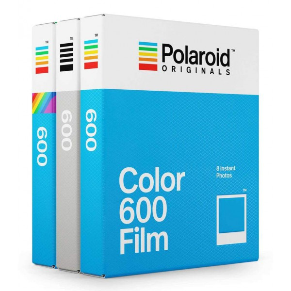 Polaroid Originals - Tripe Pack Variety Film for 600 - Color Frame - Film for Polaroid Originals 600 Cameras - OneStep 2