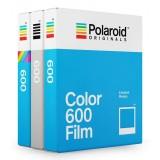 Polaroid Originals - Pacco Triplo Variety Pellicole per 600 - Frame Bianco e Colorato - Film per Polaroid 600 Camera - OneStep 2