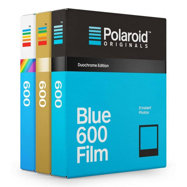 Polaroid Originals - Pacco Triplo Special Edition Pellicole 600 - Frame Colorato - Film per Polaroid 600 Camera - OneStep 2