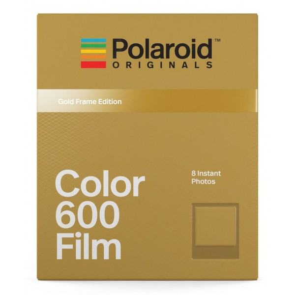 Polaroid Originals - Pellicole Colorate per 600 - Frame Dorato - Film per Polaroid 600 Camera - OneStep 2