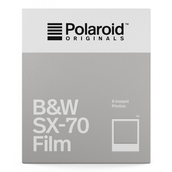 Polaroid Originals - B&W Film for SX-70 - Classic White Frame - Film for Polaroid Originals SX-70 Cameras